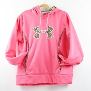 Under Armour Women Size L Hooded Sweat Shirt